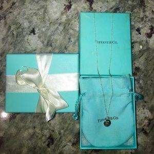 Tiffany's Sterling Silver Padlock Pendent